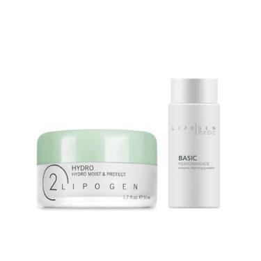 LIPOGEN Hydro Moist & Protect 50 ml + Medic Enzyme Cleansing Powder 80 g