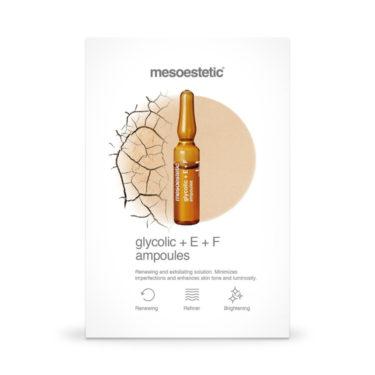 MESOESTETIC Glycolic + E + F 10 x 2 ml