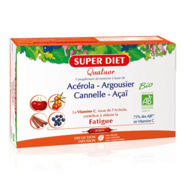 SUPER DIET Acerola 20 x 15 ml